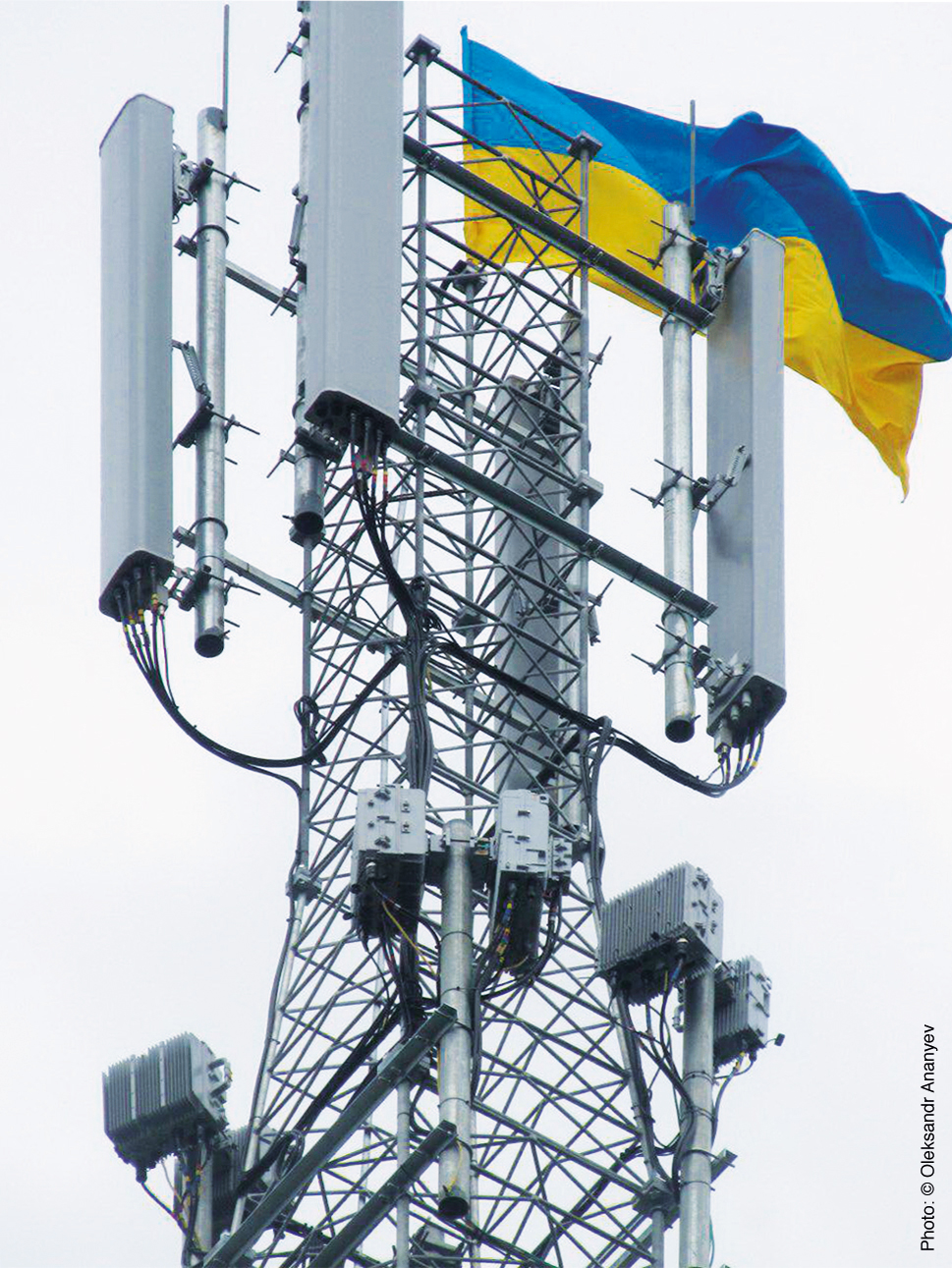 Power supply systems and services for the Ukrainian telephone ...