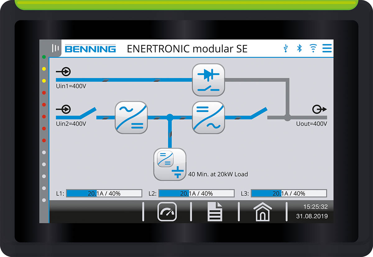 Single-line: ENERTRONIC modular SE
