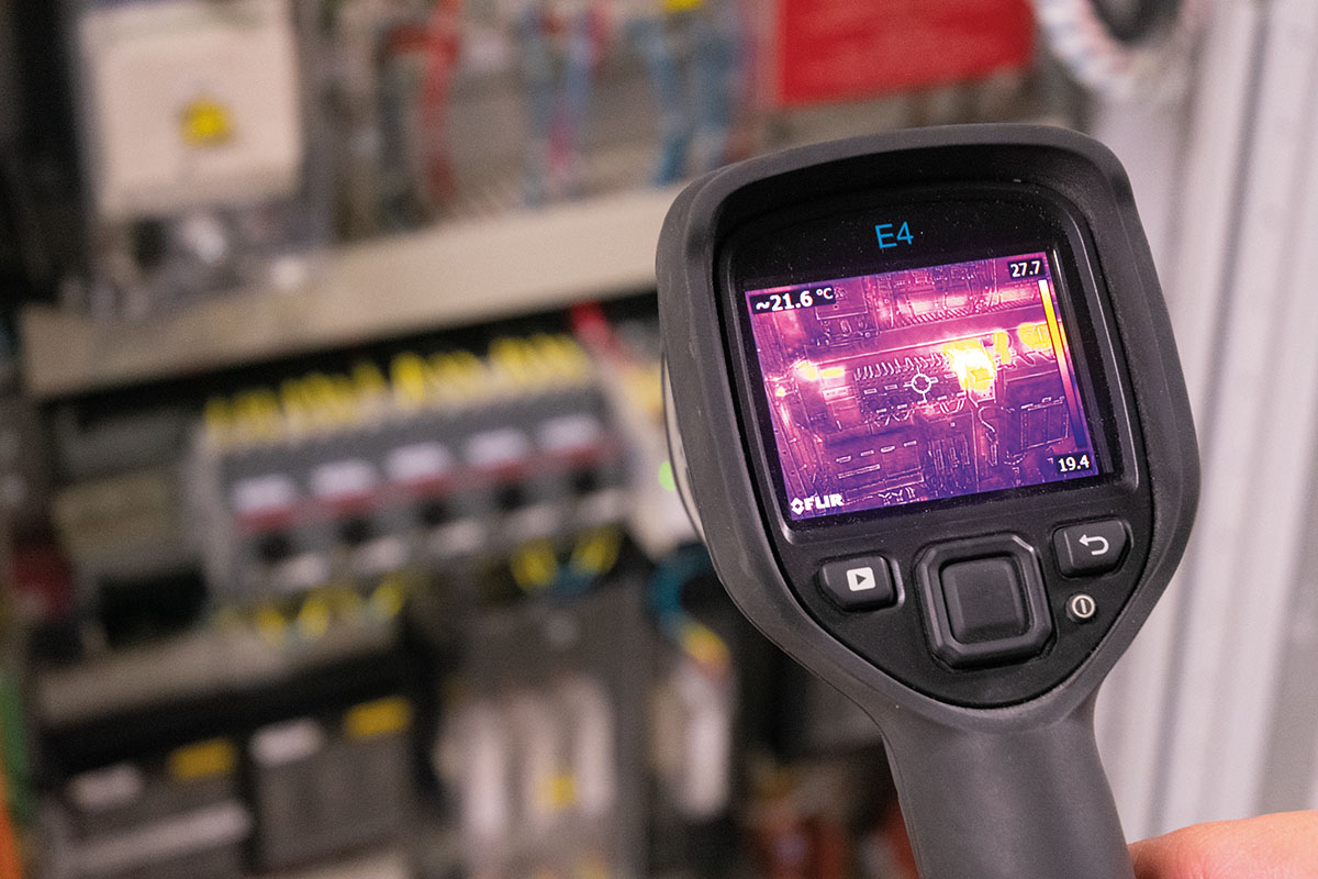 Thermal imaging has an important part to play in the servicing process.