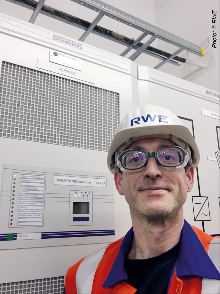 Daniel Becker, RWE Generation SE, Westfalen power station