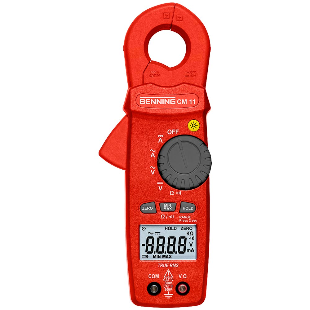Benning Cm 11 Power Suppy Adjustable 0 8211 300v Industrial Environments Requires True Rms Measuring Instruments