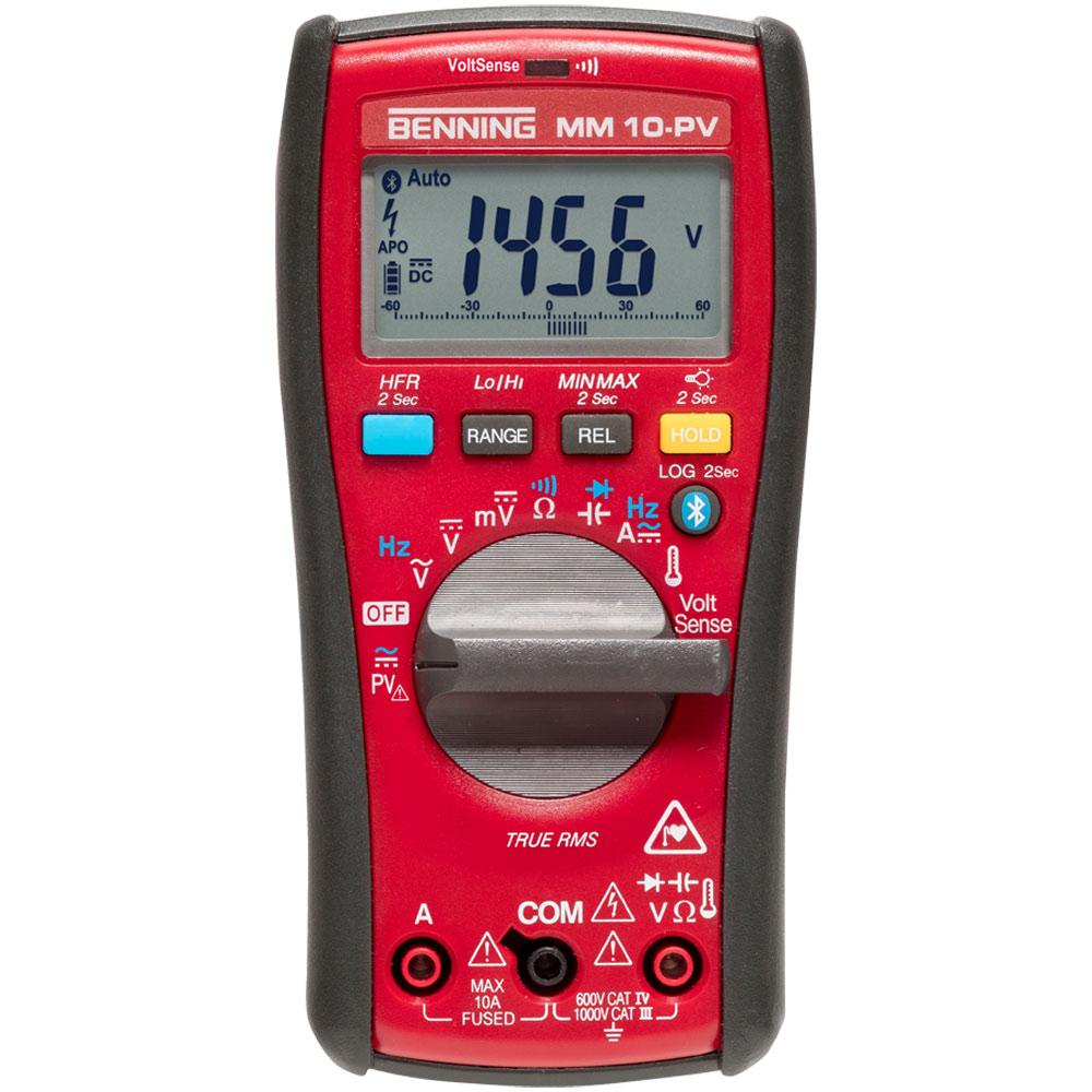 BENNING MM 10-PV  TRUE RMS PV-Multimeter für Photovoltaikanlagen und Anwendungen mit hohen Spannungen